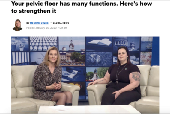 article about pelvic floor