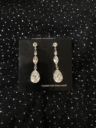 Swarovski Lia Drop Earrings