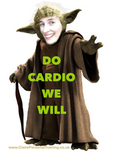 """Yoda """"Do cardio we will"""" Be more specific"""