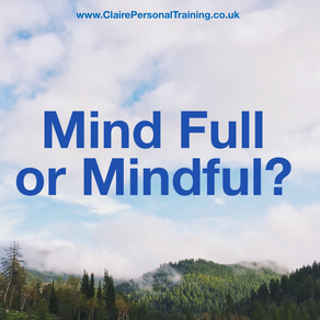 'Mindful' or 'Mind-full'?