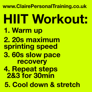 HIIT Workout #1