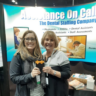 Winner of our raffle, $100 Amazon gift card. At RMDC 2020 with Maryanne