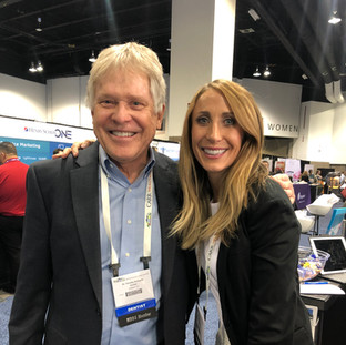 Dr. Tim Schwartz, classmate, long time client and friend with Shannon