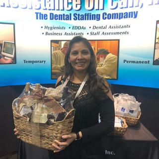 Winner of wine basket 2020 RMDC