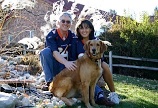 Barb with Husband and Bella