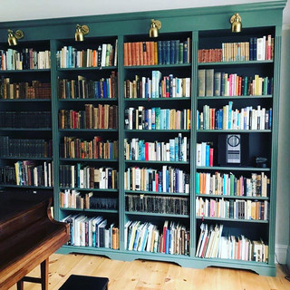 Heritage green book case