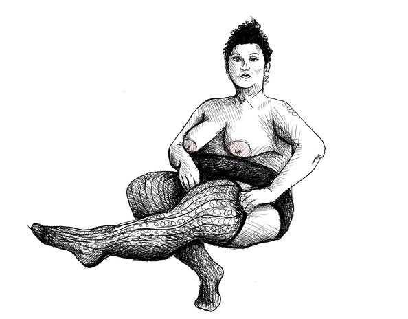 Fancy Feast, Miss Coney Island 2016 Figure Study