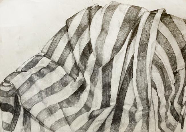 Striped Fabric Study