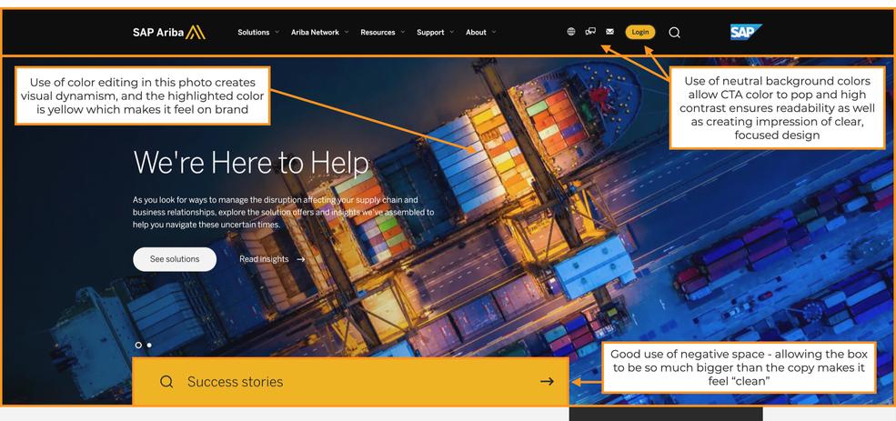 SAP Ariba Website