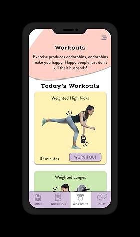 bud workout screen