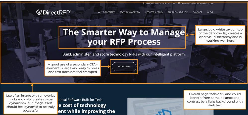 DirectRFP Website