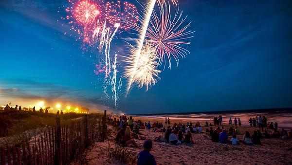 Summer Fireworks by the Sea at Carolina