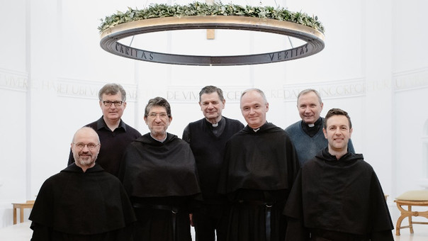 The head of the order visits the Augustinians in Britain