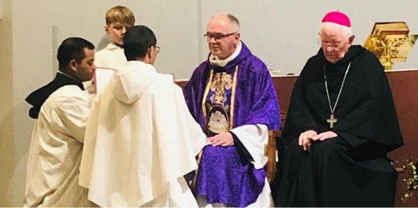 Simple Profession of Vows for Brother David Tan