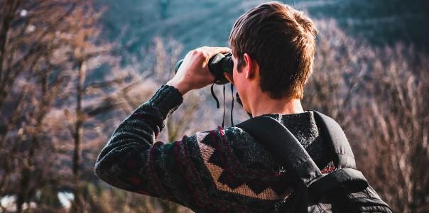 As silent as a birdwatcher
