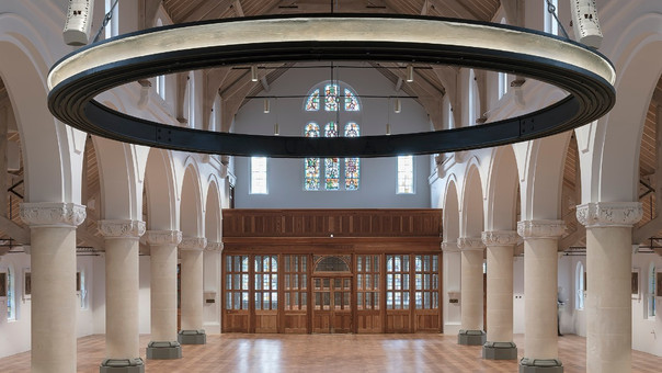 Roz Barr Architects completes restoration of west London church