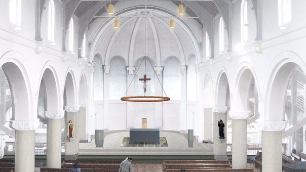 A Renovated Church in Hammersmith