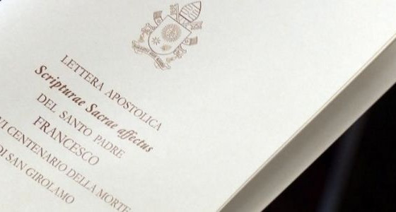 The Pope cites the Augustinianum