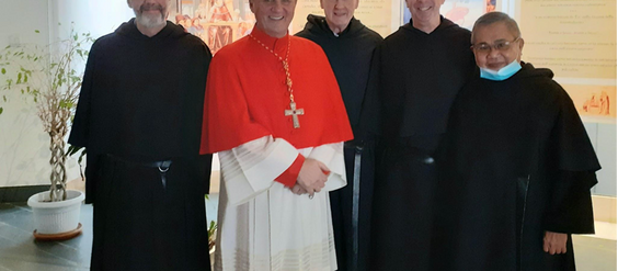 A Red Hat Day for An Augustinian Affiliate