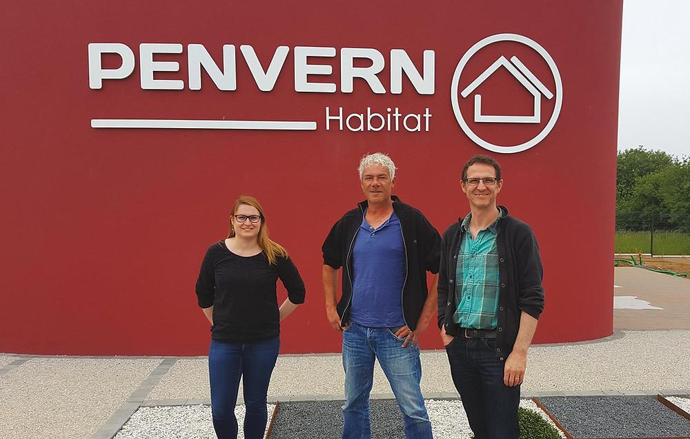 Gwenaëlle Prigent, David Ollivier, Frédéric Jaffrès