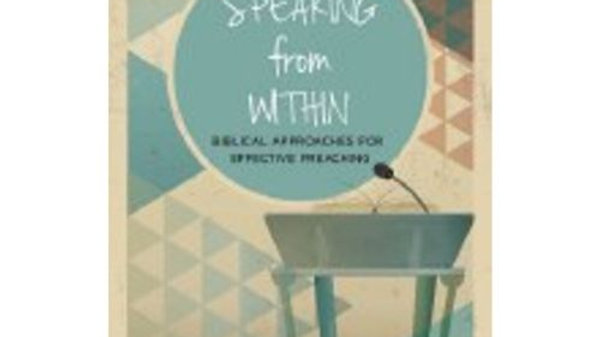 Speaking from Within, by Fr Kieran O'Mahony O.S.A.