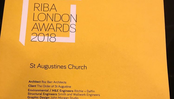 Regeneration Project wins RIBA West London award 2018