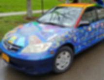Civic Engagement Art Car