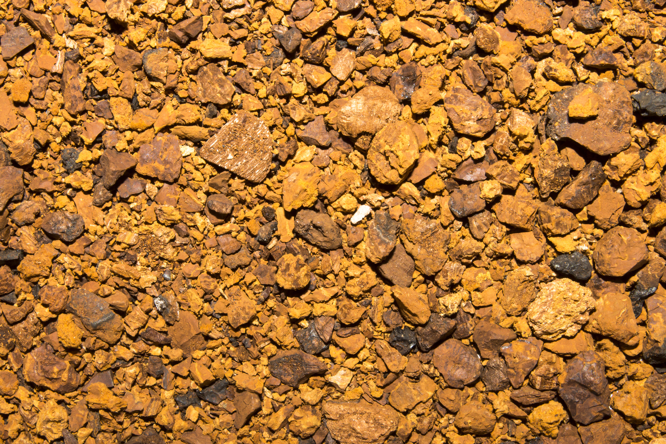 Background-of-chaga-crushed-for-brewing.