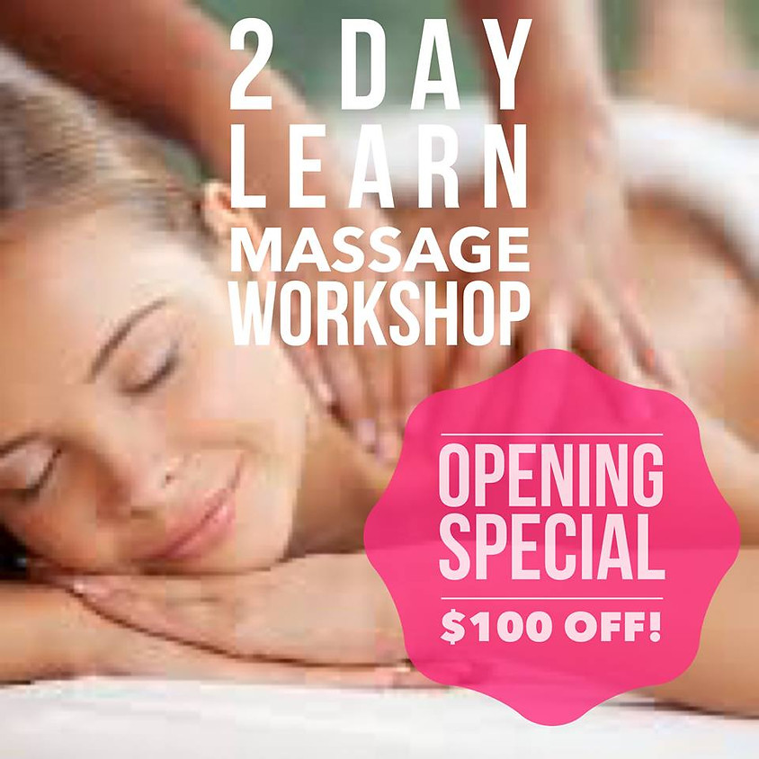2 Day Full Body Massage Workshop - Bega