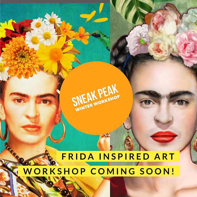 Frida Inspired Art Workshop