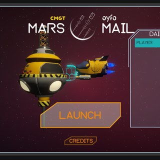 Mars Mail - The Game