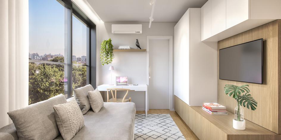 Dormitório opção gabinete