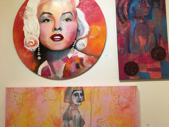 My Art at the Delta Gallery in Brentwood!