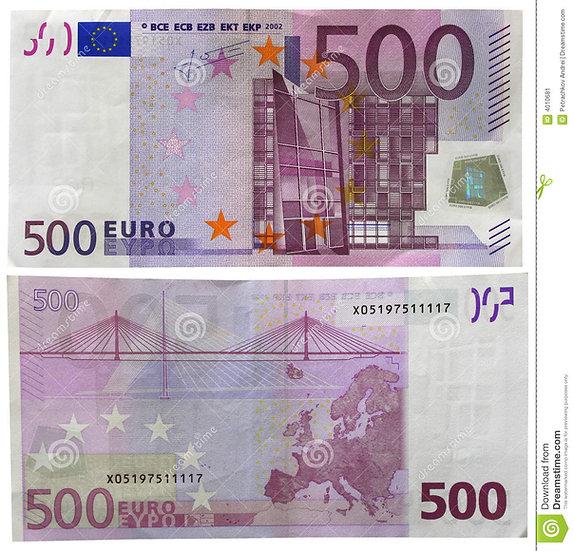 Para 500 (1 Güçlendirme)