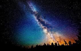 Yıldızlı Gökyüzü Geceleri Sihri (1 Uyumlama)