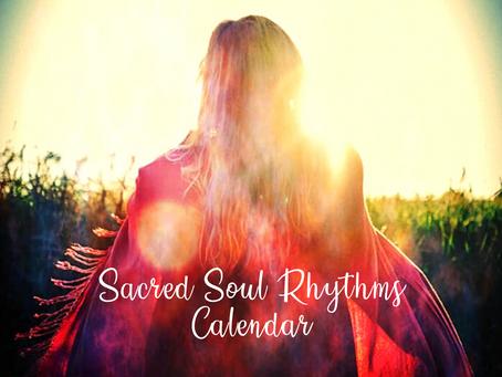 Sacred Soul Rhythms Calendar ~ January 2021