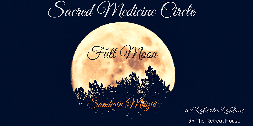 Full Moon Sacred Circle
