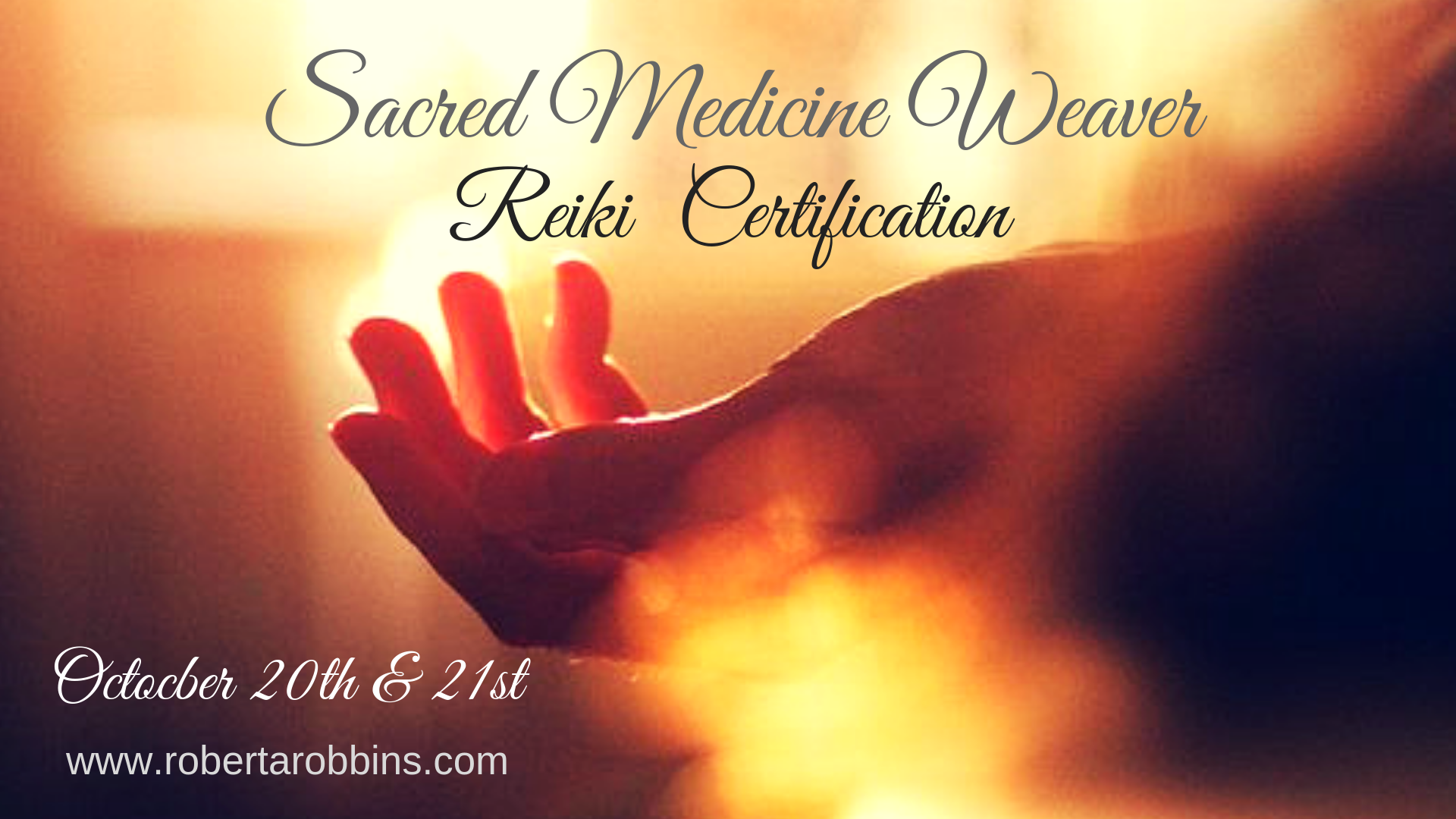Sacred Medicine Weaver Reiki Certification