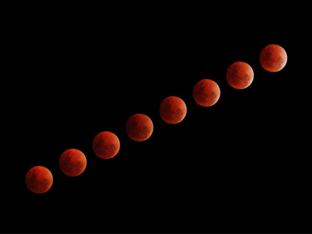 A Full Wolf Blood Super Moon Eclipse???
