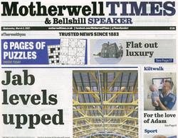 Motherwell Times and Bellshill Speaker 3