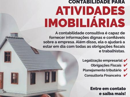 Contabilidade para Atividades Imobiliárias