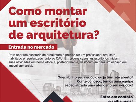 Quer saber como montar um escritório de arquitetura?