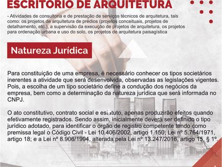 Constituição de uma empresa de Arquitetura