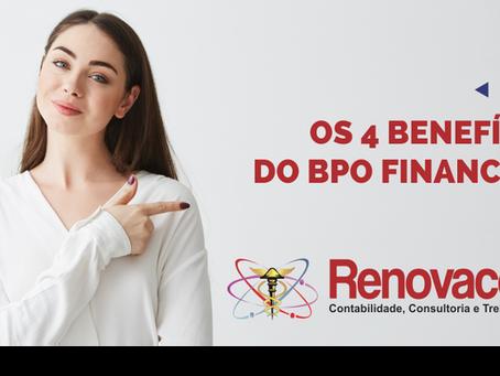 📈 Os 4 benefícios do BPO Financeiro