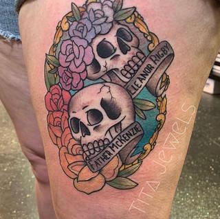 Tattoo by our artist Tita. _titajewelsta