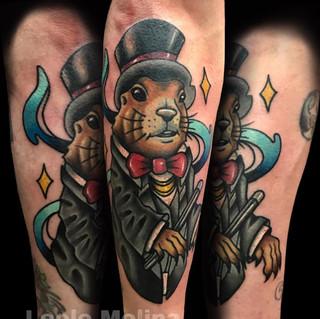 Magic Beaver Tattoo