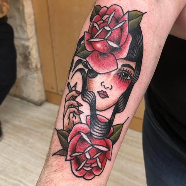 Tattoo by our artist Zach. _zachgtattoos