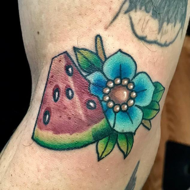 Water melon Tattoo