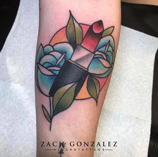 Tattoo by our artist Zach. Zach is avail