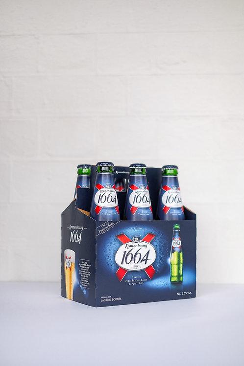 Kronenbourg 1664 6 x 330ml Bottle